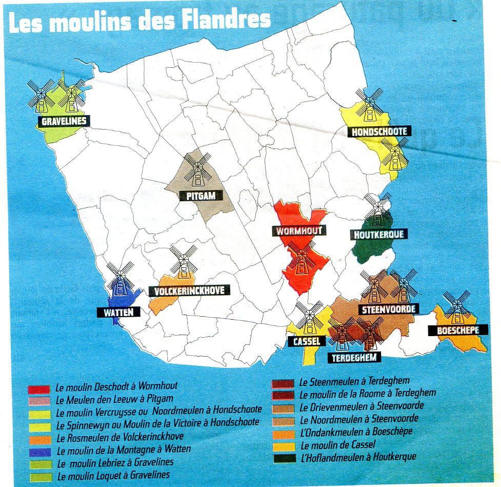 Les Moulins en Flandre